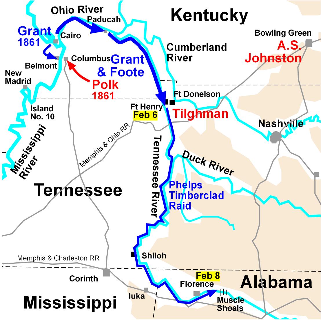 Grant S 1862 Campaign Invading The Confederate Heartland